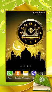 اسکرین شات برنامه Quran Analog Clock 4