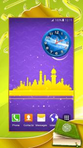 اسکرین شات برنامه Quran Analog Clock 3