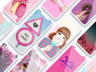 اسکرین شات برنامه تصویر زمینه دخترانه 3