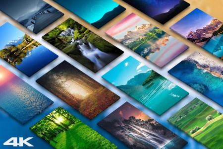 اسکرین شات برنامه تصویر زمینه طبیعت 1