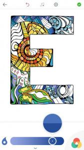 اسکرین شات برنامه Alphabet Coloring Pages 8