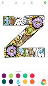 اسکرین شات برنامه Alphabet Coloring Pages 12