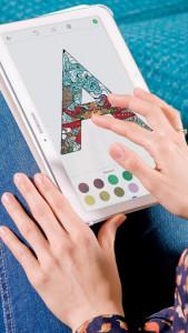اسکرین شات برنامه Alphabet Coloring Pages 6