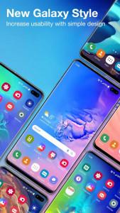 اسکرین شات برنامه Galaxy S10 Launcher for Samsung 1