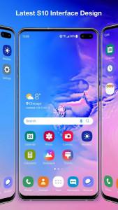 اسکرین شات برنامه Galaxy S10 Launcher for Samsung 2