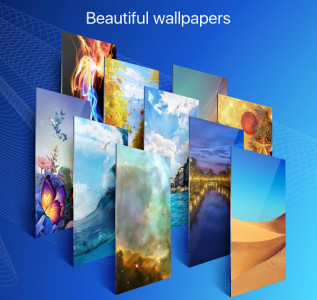 اسکرین شات برنامه Ace Launcher - 3D Themes&Wallpapers 2
