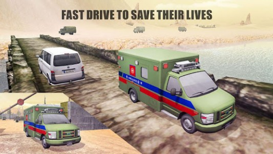 اسکرین شات بازی US Army Ambulance Rescue Game. 7