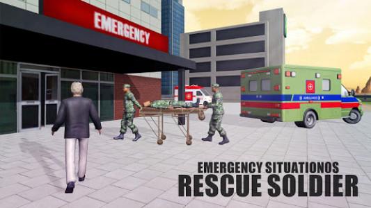 اسکرین شات بازی US Army Ambulance Rescue Game. 4