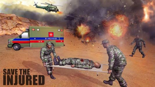 اسکرین شات بازی US Army Ambulance Rescue Game. 1