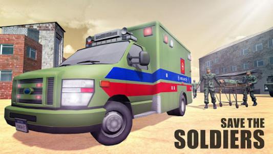 اسکرین شات بازی US Army Ambulance Rescue Game. 2