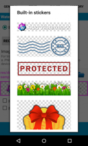 اسکرین شات برنامه Add Watermark Free 8
