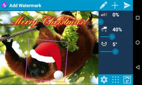 اسکرین شات برنامه Add Watermark Free 2