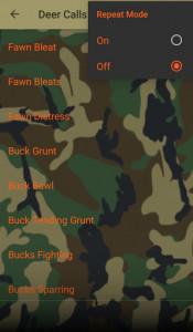 اسکرین شات برنامه Deer Hunting Calls Soundboard 8