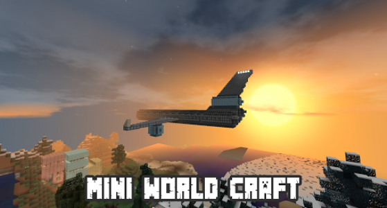اسکرین شات بازی Mini World Craft Pro : Building and Survival 4