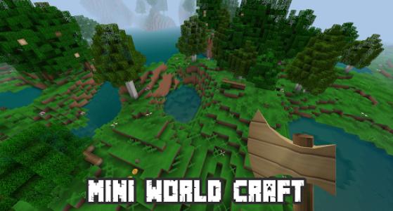 اسکرین شات بازی Mini World Craft Pro : Building and Survival 3