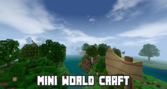 اسکرین شات بازی Mini World Craft Pro : Building and Survival 2