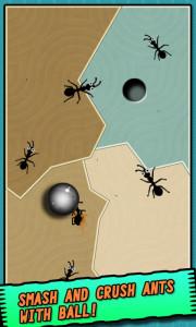 اسکرین شات بازی مورچه در مقابل توپ 2