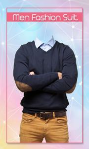 اسکرین شات برنامه Man Fashion Suit 3