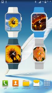 اسکرین شات برنامه ویجت ساعت نما - ساعتی با عکس شما ! 5