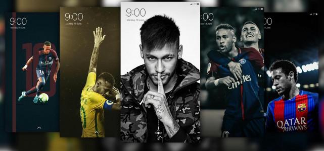 اسکرین شات برنامه تصویر زمینه فوتبالی ، رونالدو ، مسی 4