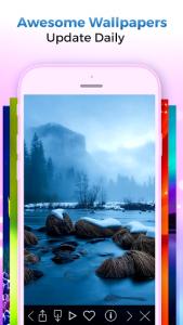 اسکرین شات برنامه Kappboom - Cool Wallpapers & Background Wallpapers 4
