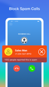 اسکرین شات برنامه CallSafe - Caller ID, Call Blocker 2