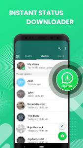 اسکرین شات برنامه WhatsDelete: View Deleted Messages & Status Saver 4