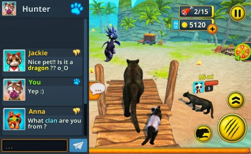 اسکرین شات بازی Puma Family Sim Online 6