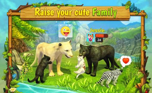 اسکرین شات بازی Puma Family Sim Online 1