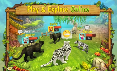 اسکرین شات بازی Puma Family Sim Online 2