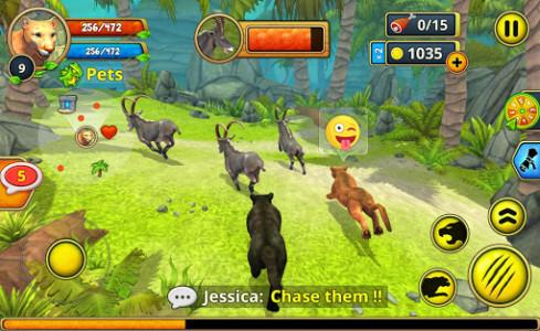 اسکرین شات بازی Puma Family Sim Online 7