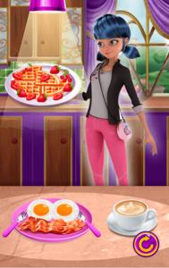 اسکرین شات بازی اشپزی دختر کفشدوزکی 4
