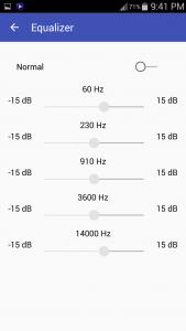 اسکرین شات برنامه Free Mp3 player - Audio Music 3