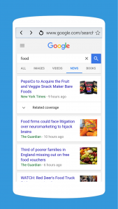 اسکرین شات برنامه A Web Browser: Fast Internet Browser for Android 2