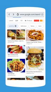 اسکرین شات برنامه A Web Browser: Fast Internet Browser for Android 6