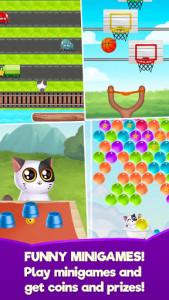 اسکرین شات بازی My Cat Mimitos 2 – Virtual pet with Minigames 1