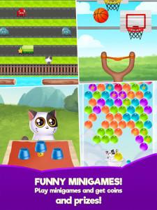 اسکرین شات بازی My Cat Mimitos 2 – Virtual pet with Minigames 7