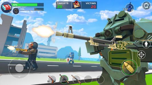 اسکرین شات بازی PIXEL'S UNKNOWN BATTLE GROUND 7