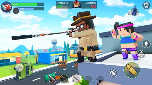 اسکرین شات بازی PIXEL'S UNKNOWN BATTLE GROUND 6