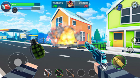اسکرین شات بازی PIXEL'S UNKNOWN BATTLE GROUND 8