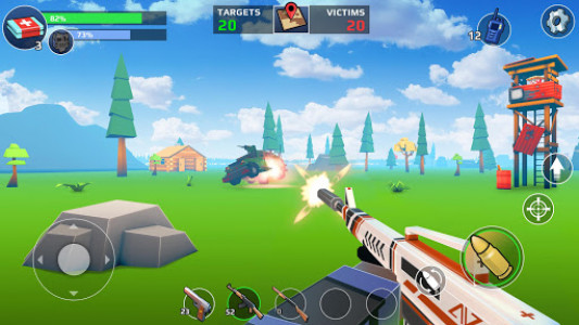اسکرین شات بازی PIXEL'S UNKNOWN BATTLE GROUND 2