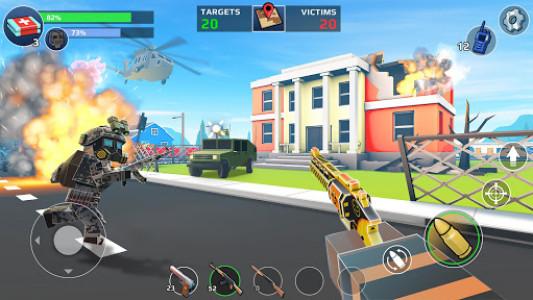 اسکرین شات بازی PIXEL'S UNKNOWN BATTLE GROUND 3