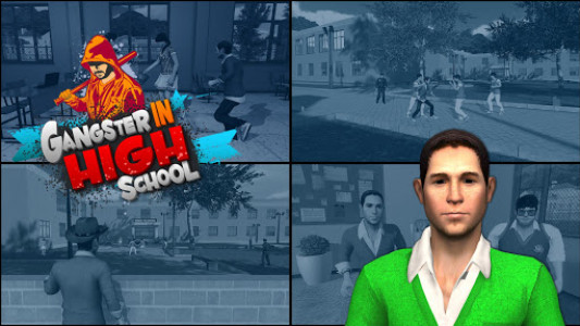 اسکرین شات بازی Gangster in High School - New Fighting Games 2020 1