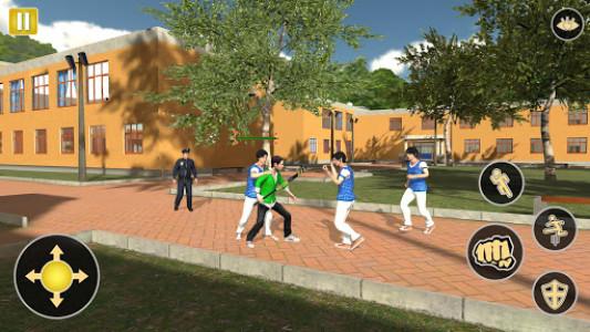 اسکرین شات بازی Gangster in High School - New Fighting Games 2020 5