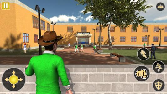 اسکرین شات بازی Gangster in High School - New Fighting Games 2020 4