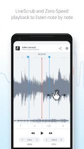 اسکرین شات برنامه AudioStretch: Music Pitch and Speed Changer 4