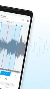 اسکرین شات برنامه AudioStretch: Music Pitch and Speed Changer 2