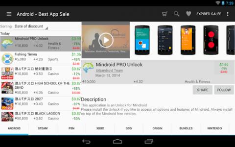 اسکرین شات برنامه Best App Sale 6