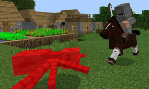 اسکرین شات برنامه Medieval Mobs for Minecraft 5