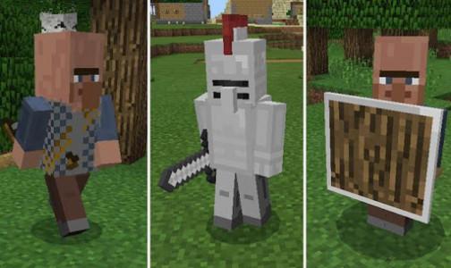 اسکرین شات برنامه Medieval Mobs for Minecraft 3
